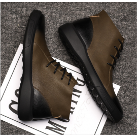 High top British style Martin boots