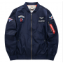 Spring and Autumn Air Force pilot jacket men's fashion brand men's casual coat large men's American Baseball Shirt